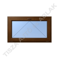 Műanyag ablak, aranytölgy színben, bukó kialakítással