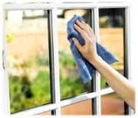 műanyag ablak üvegének tisztítása