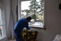 Műanyag ablak bontásos beépítése
