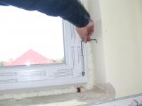 Műanyag ablak finom beállítása