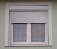Műanyag ablakra szerelhető külsőtokos redőny
