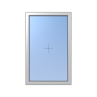 Műanyag ablak fix kialakítással
