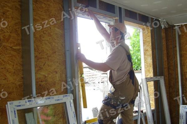 műanyag ablak Debrecen beépítés