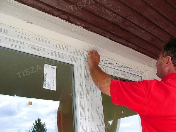 műanyag ablak debrecen védőfólia kívülről leszedése