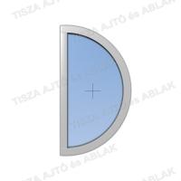 Műanyag ablak árak Decco félkör fix