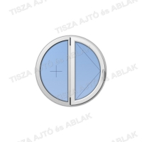 Műanyag ablak árak Decco kör nyíló