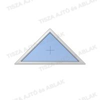 Műanyag ablak árak Decco háromszög fix