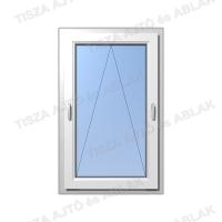 Műanyag ablak árak  Decco kétkilincses  bukó