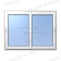 Műanyag ablak árak Certainteed vízszintes  toló-toló