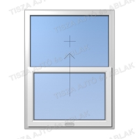 Műanyag ablak árak Certainteed  fuggőleges  fix-toló