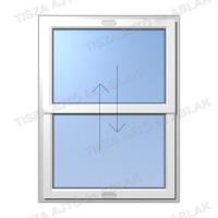 Műanyag ablak árak Certainteed  függőleges  toló-toló