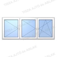 Műanyag ablak árak  Decco nyíló-nyíló- bukónyíló