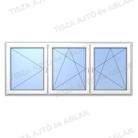 Műanyag ablak árak  Decco nyíló-bukónyíló- bukónyíló