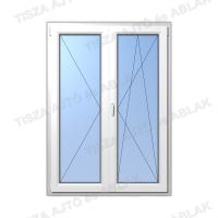 Műanyag ablak árak Decco nyíló-bukónyíló erkélyajtó