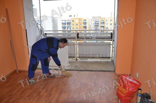 ablakcsere Debrecen közbeni takarítás